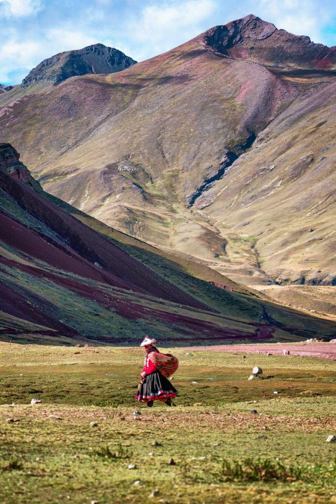 Peruvian Mountain Woman