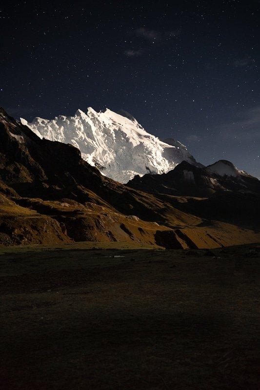 Mountain at Night
