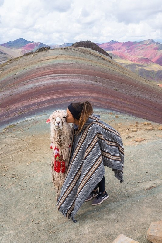 Alpaca Alt. Rainbow Mountain