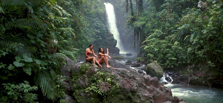 costa rica waterfall la paz